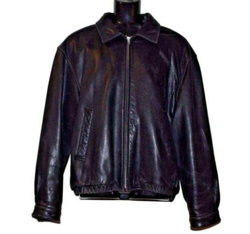 Rare Coach Leather Motorcycle Cafe Flight Bomber B