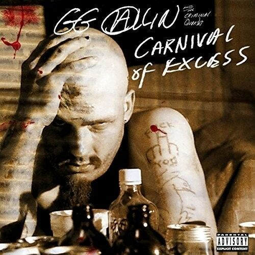 Gg Allin - Carnival of Excess [New CD]