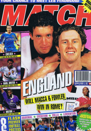 ENGLAND BLACKBURN CHELSEA MAN UTD BOLTON Match Oct 11 1997