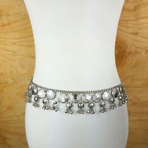 Unique Coin Fringe Tassel Belt Tribal Belly Dance Festival Fashion Hip Jewelry