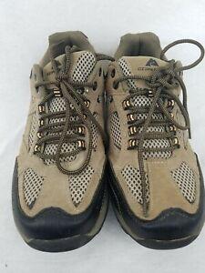 2cfa16efb9bcc Ozark Trail Mens  Hikers Taupe Hiking Walking Trail Shoes Men s Size ...