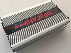 12 Volt Inverter Inv200/12 High Safety 4000 Watt Surge