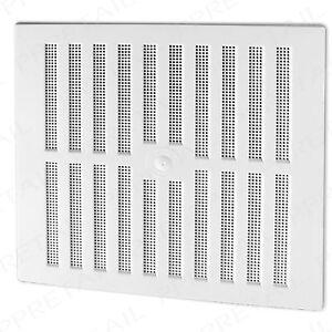 White Adjustable Hit Amp Miss Large Air Vent 11 25 Quot X