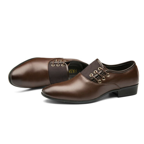 Plus Size Men/'s Casual Pointed Toe Business Dress Formal Office Leather Shoes