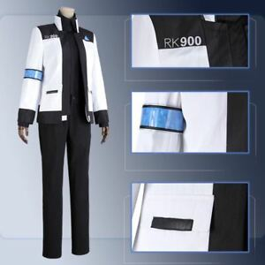 21be929b6 Image is loading DBH-Detroit-Become-Human-Connor-RK900-Jackets-White-