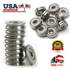 2050pcs Mini V623603zz Wire Pulley V Groove Steel Bearings Widely Use 3124mm