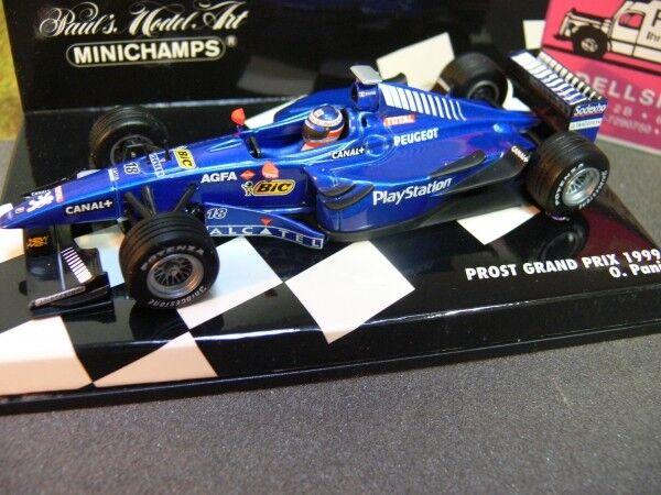 1 43 Minichamps prost Ford Grand prix 1999 O. panis 430990018