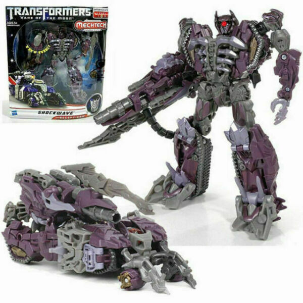 Transformers Dark of the moon   V-class shockwave action figure kids toys