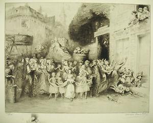 Omer-Desire-Bouchery-Lille-1913-Ouvriers-of-Textile-La-Fete-Du-Broquelet-Nicolas