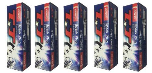 5x DENSO TT SPARK PLUGS FITS VOLVO C30 C70 II S40 II V50 II 2.4i 140BHP 170BHP