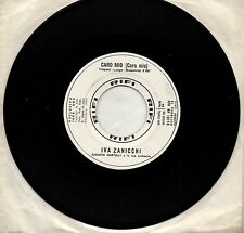 IVA ZANICCHI disco 45 promo JUKE BOX  Caro mio Cara mia STAMPA ITALIANA 1965