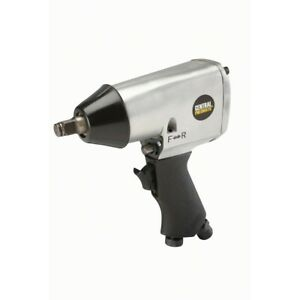 """1//2/"""" Twin Hammer Heavy Duty Air Impact Wrench Max Torque 750ft//lb"""