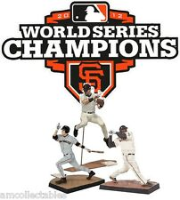 McFARLANE MLB 3-PACK - 2012 WORLD SERIES CHAMPIONS - SF GIANTS - SET DE FIGURAS