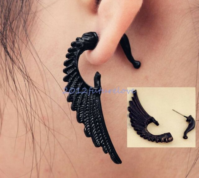 1pc Stereoscopic Dinosaur/Rabbit/Cat/Dog/Horse Impalement Club Earring 39 Style