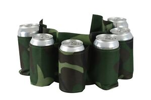 Party-Beer-Soda-Can-Belt-6-Pack-Holster-Great-For-Beer-Lovers-Ships-From-USA