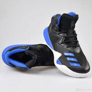 Details about Adidas Crazy Team Men's/Youth Basketball Shoes Blue/Black White