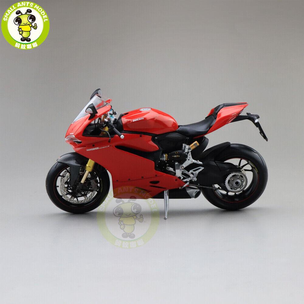 1 12 TSM Ducati 1299 PANIGALE S Diecast Motorcycle Model