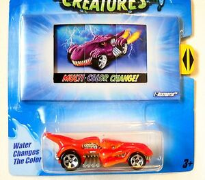 Details About Hot Wheels Color Shifters Creatures T Rextroyer Multi Color Changer T Rex