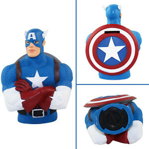 Super-Heroes-Captain-America-18cm-Coin-Money-Bank