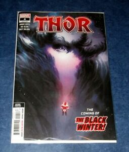 THOR 4 variant 2nd print NIC KLEIN DONNY CATES 2020 1st app BLACK WINTER COVER