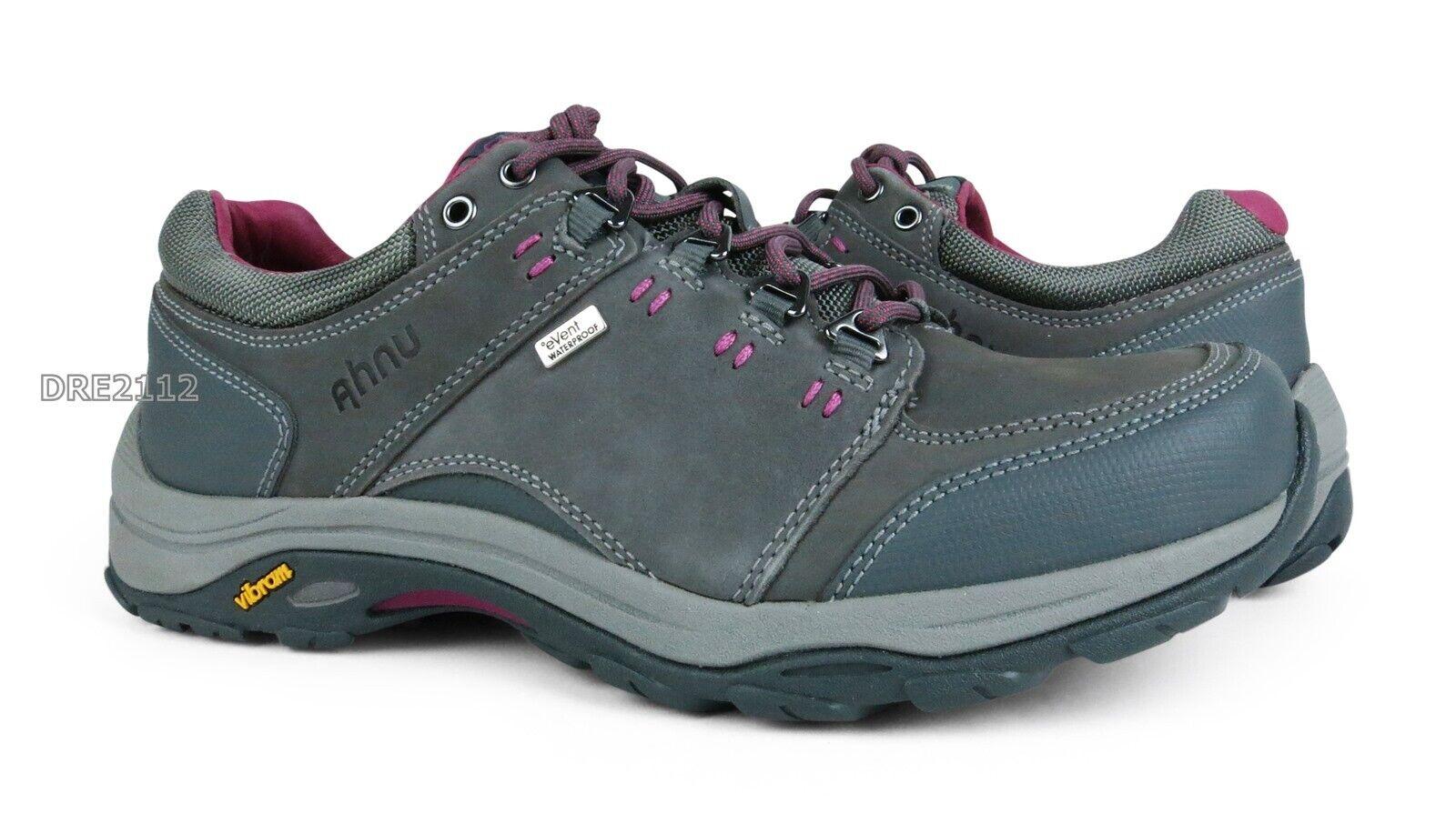 Ahnu Montara III Event Charcol grå läder skor kvinnor kvinnor kvinnor Storlek 9.5 NIB   äkta