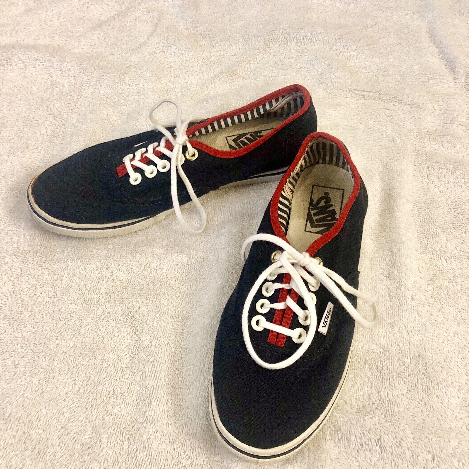 Vans Authentic Era Classic Unisex Canvas Sneakers Women Size 7 Men Size 5.5
