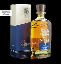 NIKKA 12 Jahre Premium Blended Whisky Malt & Grain Blend - limitierte Abfüllung
