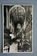 R&L Postcard: Winchester Cathedral Choir , Walter Scott