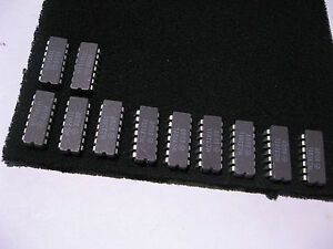 Motorola-MC3101L-14-PIN-DIP-Ceramic-Memory-SRAM-16x4-NOS-Qty-11