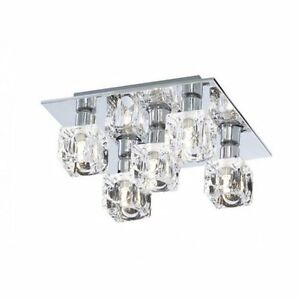 Searchlight 2275 5 Modern 5 Light Ice Cube Ceiling Light
