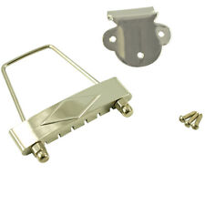 WD MUSIC T120SN REPLACEMENT GIBSON ES-335 STYLE TAILPIECE SHORT NICKEL