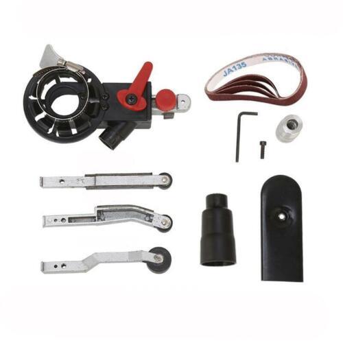 For Angle Grinder Belt Sander Attachment Metal Wood Sanding Adapter 115mm 125mm