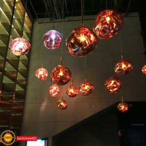 tom dixon melt pendant led chandelier melt ceiling light pendant lamp lighting ebay. Black Bedroom Furniture Sets. Home Design Ideas