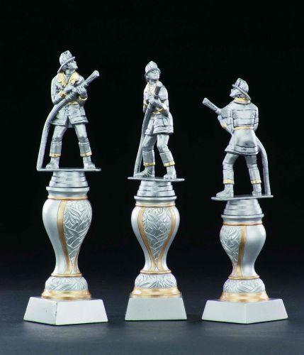 Feuerwehr-Pokale mit Wunschgravur (Einzelpokal (Einzelpokal (Einzelpokal oder komplette 3er-Serie 33684) 307892