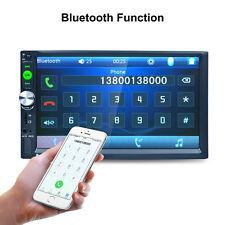"2DIN 7"" HD Car Touchscreen Bluetooth Stereo MP3 MP5 Player Radio FM GPS FM Radio"