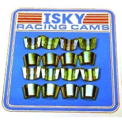 """ISKY VL1132 Valve Locks Machined Hardened Steel 7 Deg 1-Groove 11//32/"""" Set of 16"""