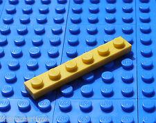 Lego 3666 1x6 Plate Yellow X 5 **Brand New Lego**