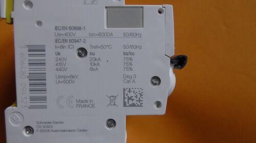iC60N  4P C20 20A  DISJONCTEUR SCHNEIDER A9F77420-009432