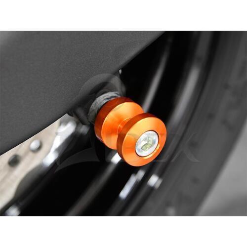 Kawasaki versys 650 BJ 2015-17 Bobbins//racingadapter montage support m8 Orange