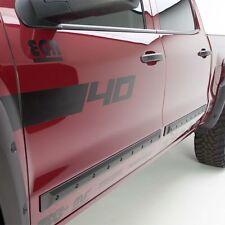 EGR Set of 4 Side Moldings Front & Rear New Chevy Ram Truck Silverado 991674
