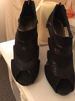 Zapatos De Las Señoras Negro Talla 5