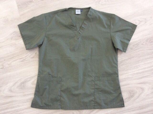 Biz Collection Ladies Size M Kaikai Short Sleeve Srubs Top / Shirt