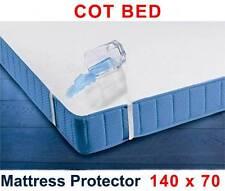 Protector De Colchón Impermeable 140 x 70 cm /cuna bebé Transpirable Terry