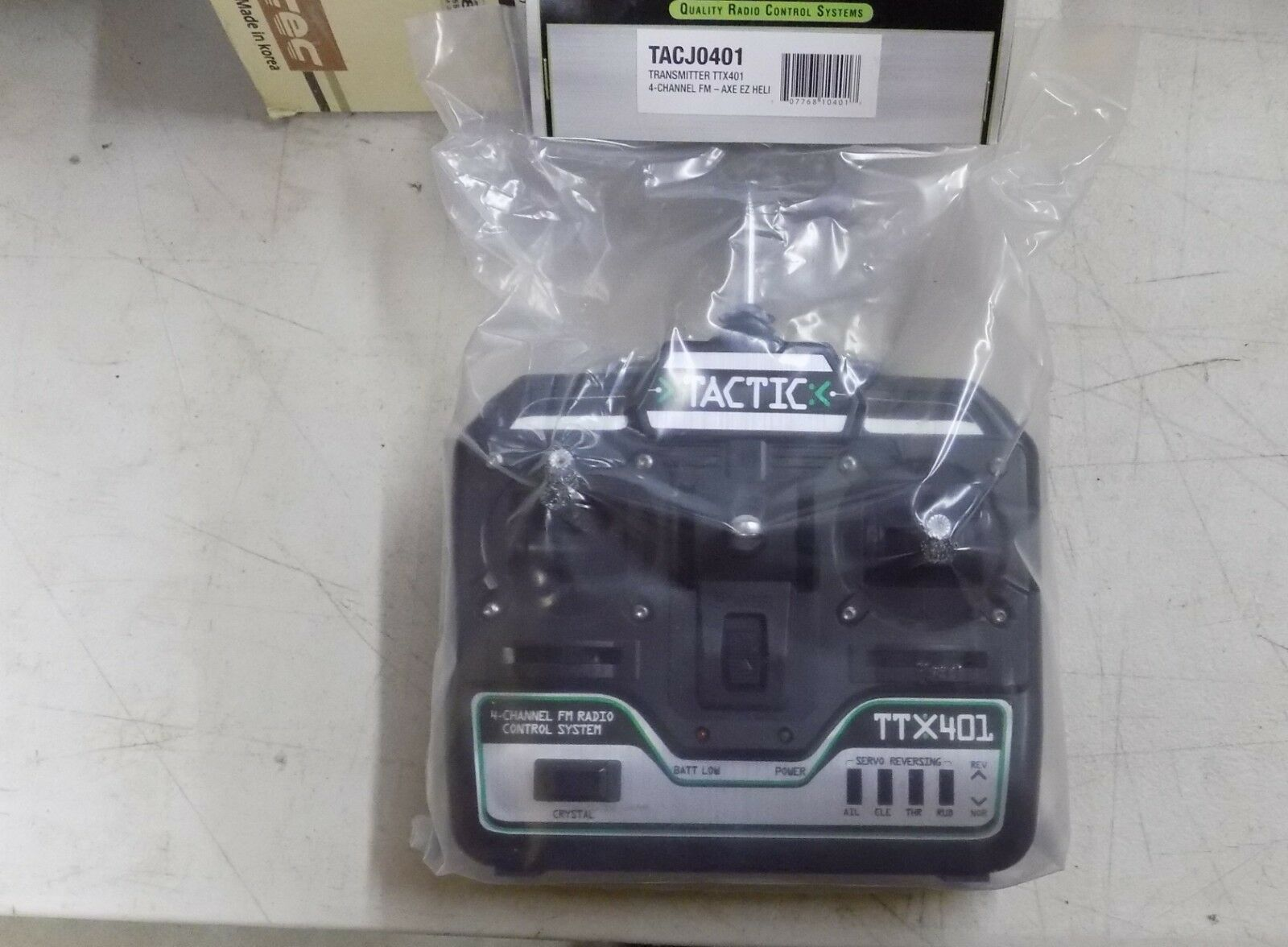 Tactic RC Transmitters TTX 401   TTX 404 (Select One)