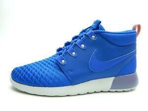 competitive price 96dc2 6ff9a Image is loading NIKE-MEN-039-S-ROSHE-RUN-SNEAKERBOOT-GAME-