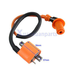 Hi-Performance-Ignition-Coil-6-or-12-volts-For-Suzuki-Points-or-CDI-Magneto