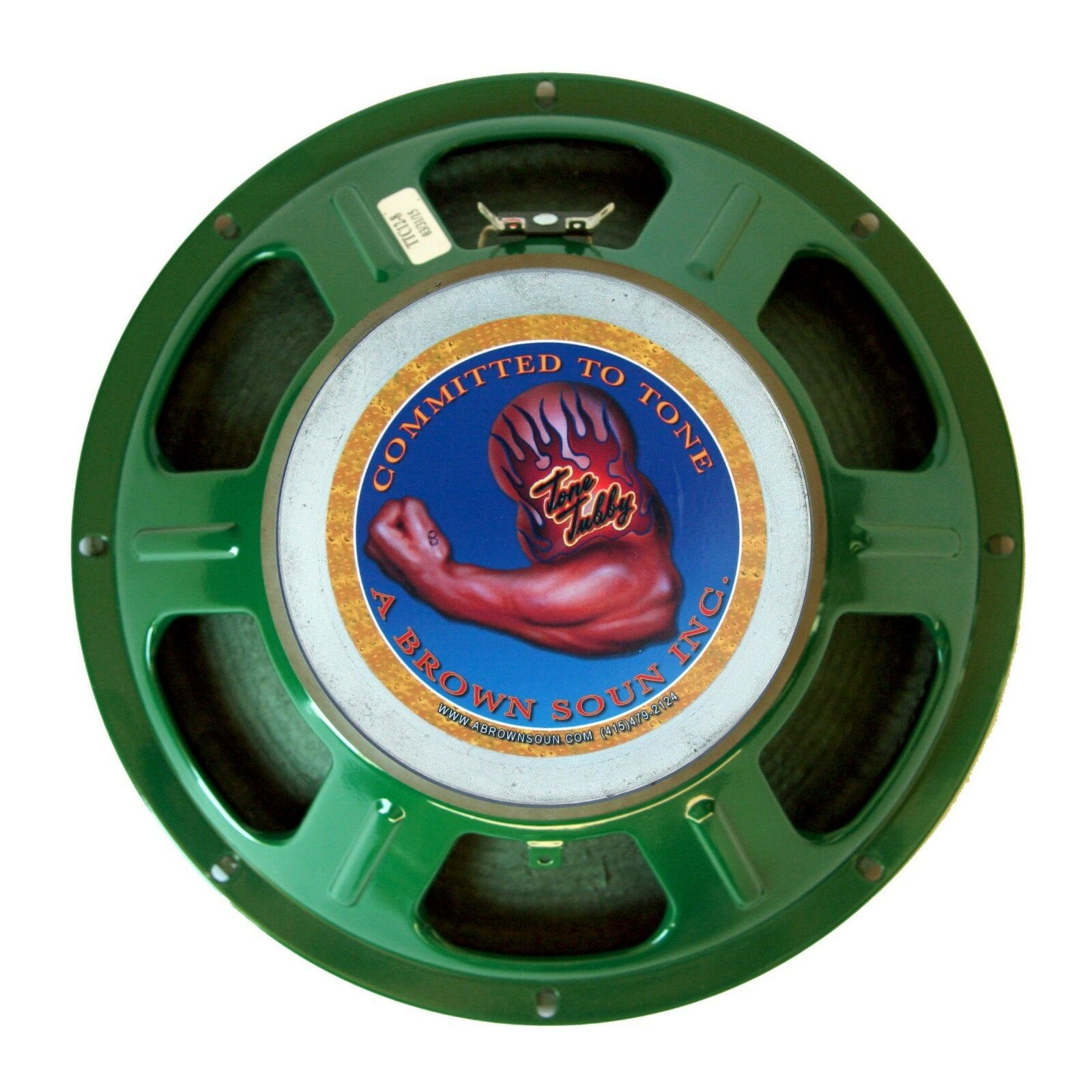 Tone Tubby 12  42 40 Ceramic Cloth Surround Hemp Cone Guitar Speaker 16 ohm NEW