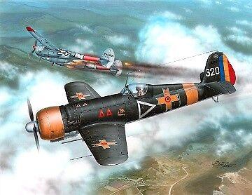 Frrom-Azur 1 32 IAR-81C Rumanian Fighter FR8001