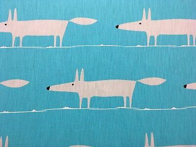Mr Fox Cuscini.Scion Mr Fox Tendine Cuscino Tessuto 2 6 Metri Blu Misto
