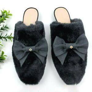 Kate Spade Jocelyn Faux Fur Slippers